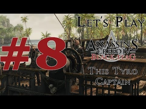Let's Play Assassin's Creed IV: Black Flag (PS4) Part 8 Merry Christmas This Tyro Captain