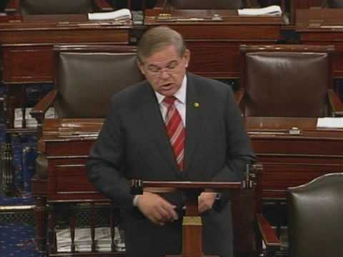 Senator Menendez Speaks In Favor Of Health Care Reform