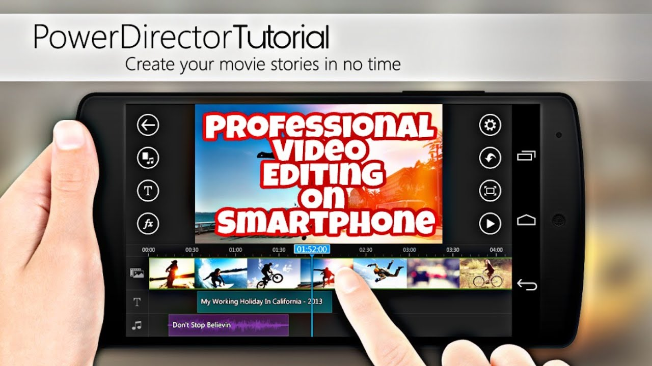 how to make professional video editing