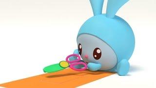 Малышарики - Новые серии - Гости (54 серия) | Для детей от 0 до 4 лет