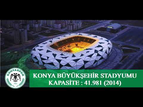 TFF Süper Lig Stadyumları 2020 - 2021 Sezonu (Turkish Super League Stadiums)