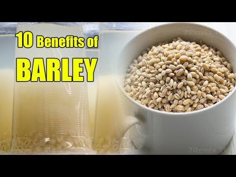HERE ARE 10 Benefits of Barley Water! You Will Be Amazed what Happened Later!