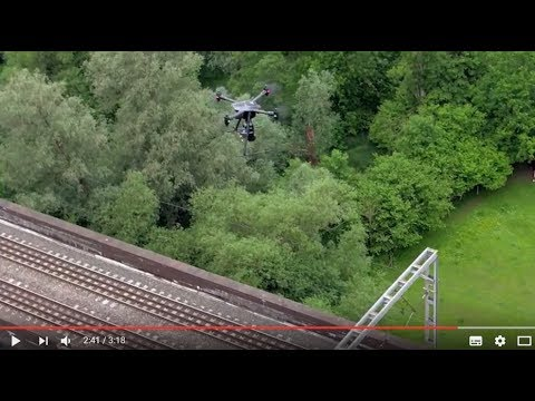 Vogel R3D - advanced UAV rail surveying from Plowman Craven