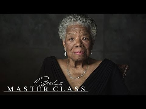 "Dr. Maya Angelou: ""Be a Rainbow in Someone Else's Cloud"" 
