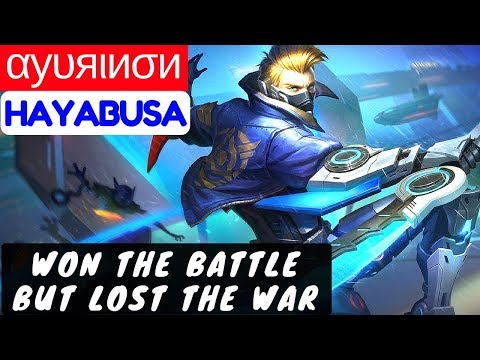 Won the Battle But Lost The War [Top 12 Global Hayabusa] | αуυяιиσи` Hayabusa Gameplay #3