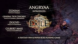 Path Of Exile | AngryAA's Pen & Paper Game (Invitation) by MirekLeFou