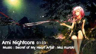 [Nightcore] Secret of My Heart - Mai Kuraki