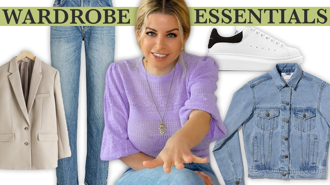 13 Closet Essentials Every Woman Needs in Her Wardrobe