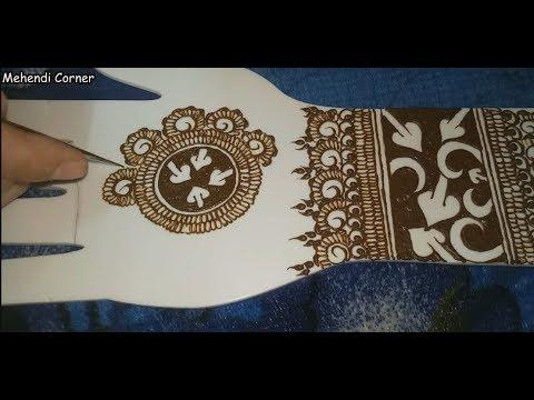 Easy Arabic Henna Mehndi Designs For Hands | #Simple Mehndi Designs #Mehndi  Designs