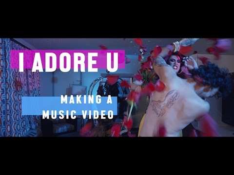 ADORE DELANO - I ADORE U (MAKING A MUSIC VIDEO)