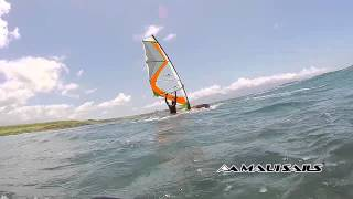 110 Taty Frans super slow motion forward loop on 2015 Mutant wave sail