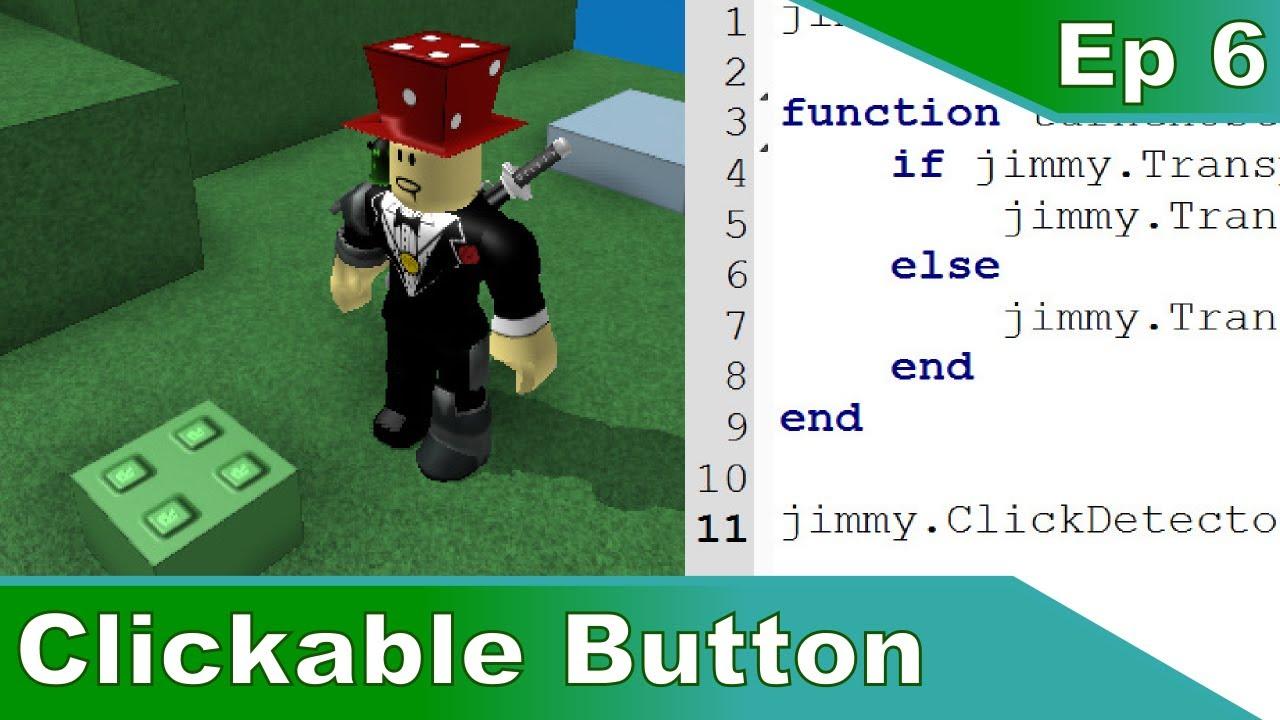 6  Clickable Button - Roblox Scripting Tutorials