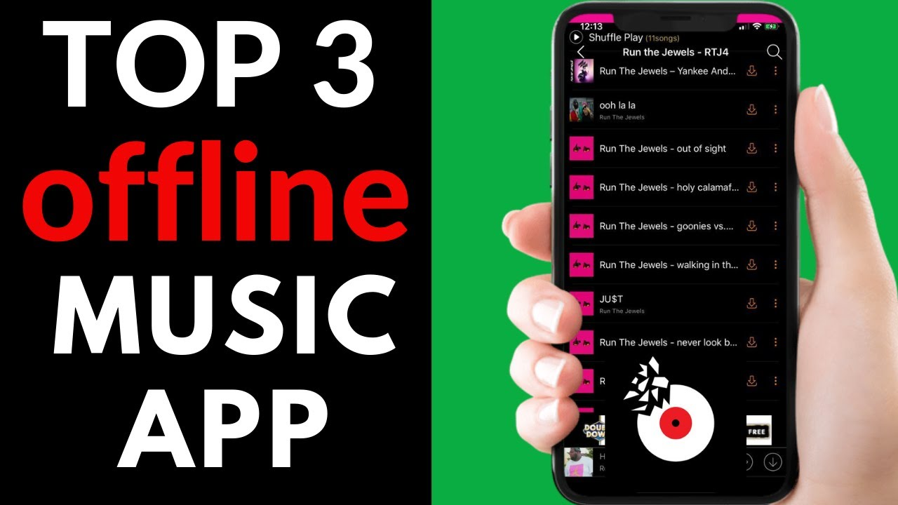 Top 3 Best Free Offline Music App For Android And Ios Device Offline Music 2021 Youtube