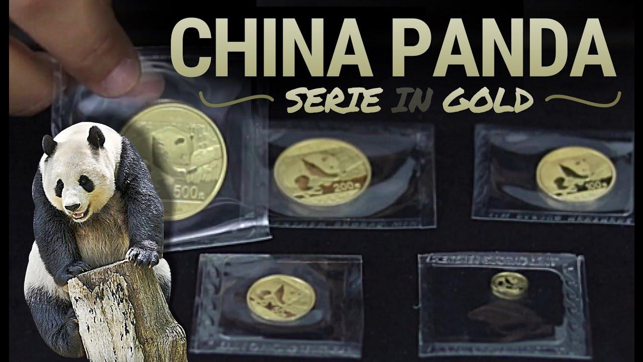 China Panda Münzen Serie In Gold Die Goldmünzen Aus Asien Youtube