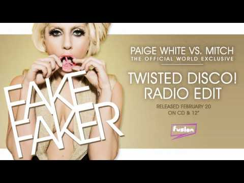 Paige White Vs. Mitch - Fake Faker (Radio Edit)