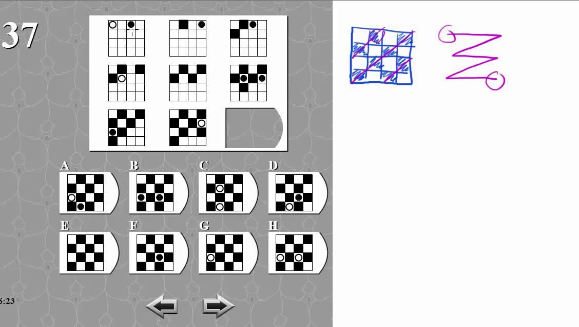 IQ TEST matrix 37 SOLVED AND EXPLAINED