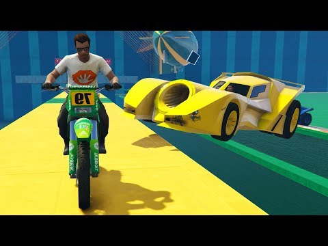CORRE O TE ATROPELLO! VIGILANTE vs MOTOS! - GTA 5 ONLINE - GTA V ONLINE