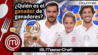 Ránking de ganadores de 'MasterChef' - Sí, MasterChef