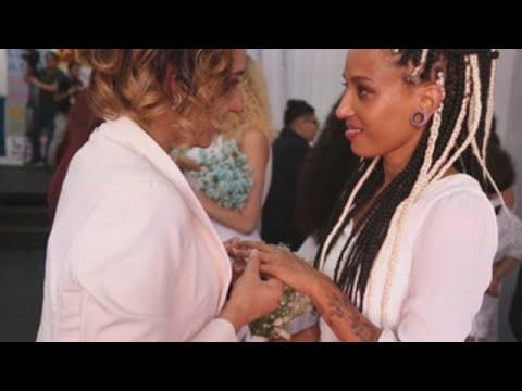 Unas 38 parejas homosexuales se casan en Brasil en una boda colectiva
