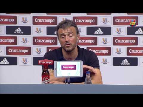"""Luis Enrique: """"It was a deserved victory"""""""