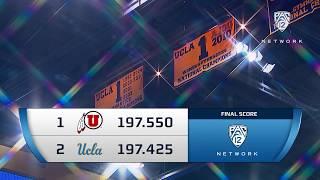 Recap: UCLA Gymnastics Edged by Utah