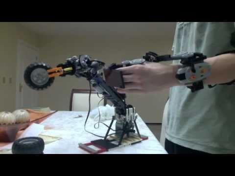 LEGO Robotic Arm - Power Functions - YouTube