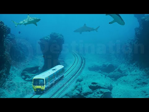 Dubai's Crazy Underwater Train and Other Things #Only in Dubai
