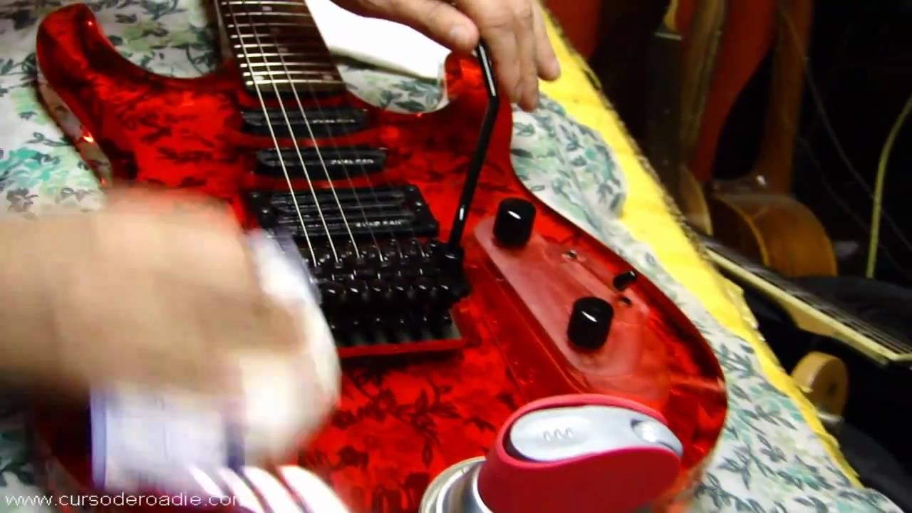 Luthier dicas com wd 40 na guitarra youtube for Guitarras de luthier