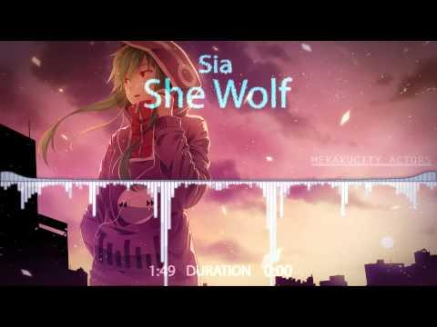 Sia - She Wolf 『Nightcore』