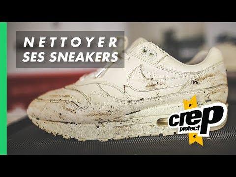 new design official shop vast selection NETTOYER ET ENTRETENIR SES SNEAKERS - YouTube