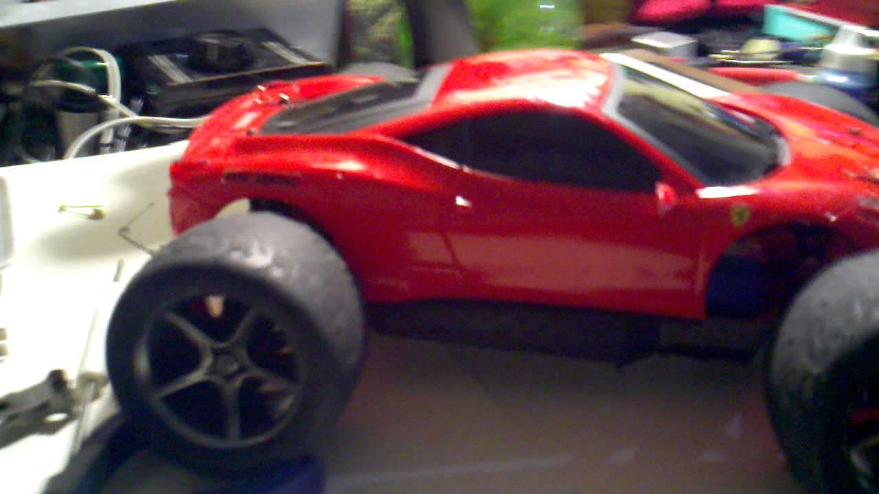 Diy Ferrari E Revo Body Youtube