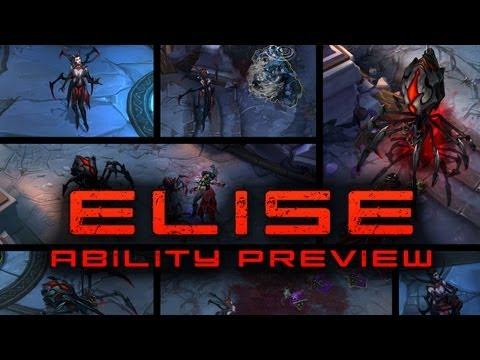 Elise Ability Mechanics Preview