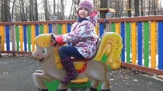 Outdoor Playground with UT kids