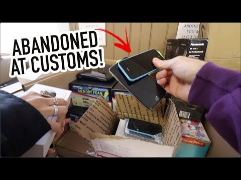 UNCLAIMED & ABANDONED PACKAGES AUCTION!