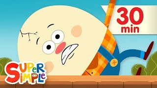 Humpty Dumpty | + More Kids Songs | Super Simple Songs