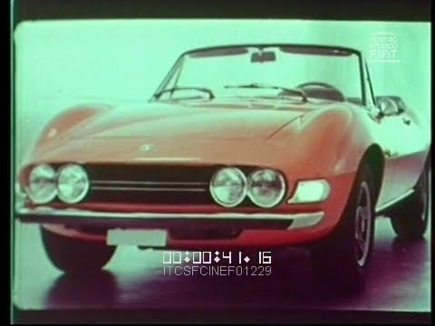 Ad Fiat Dino Spider 1969 71 Ita Vv Youtube