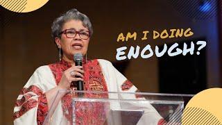 Am I Doing Enough?   Rev. Elaine Flake   Allen Virtual Experience