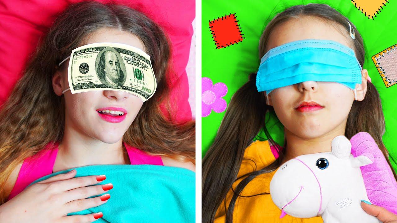 Download Chica Rico Impopular VS Chica Pobre Popular || Amigos y situaciones divertidas