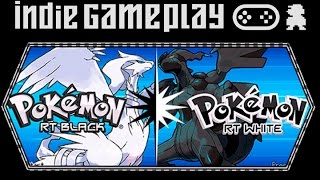 Indie Gameplay - Pokemon Real Time Battle (Black/White)