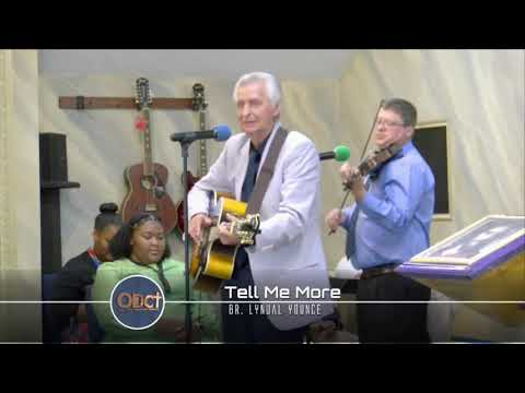 Eliezer, Tell Me More - Br. Lynual Younce