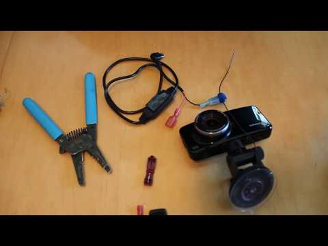 Install Dashcam Using Power From Rearview Mirror Without Soldering