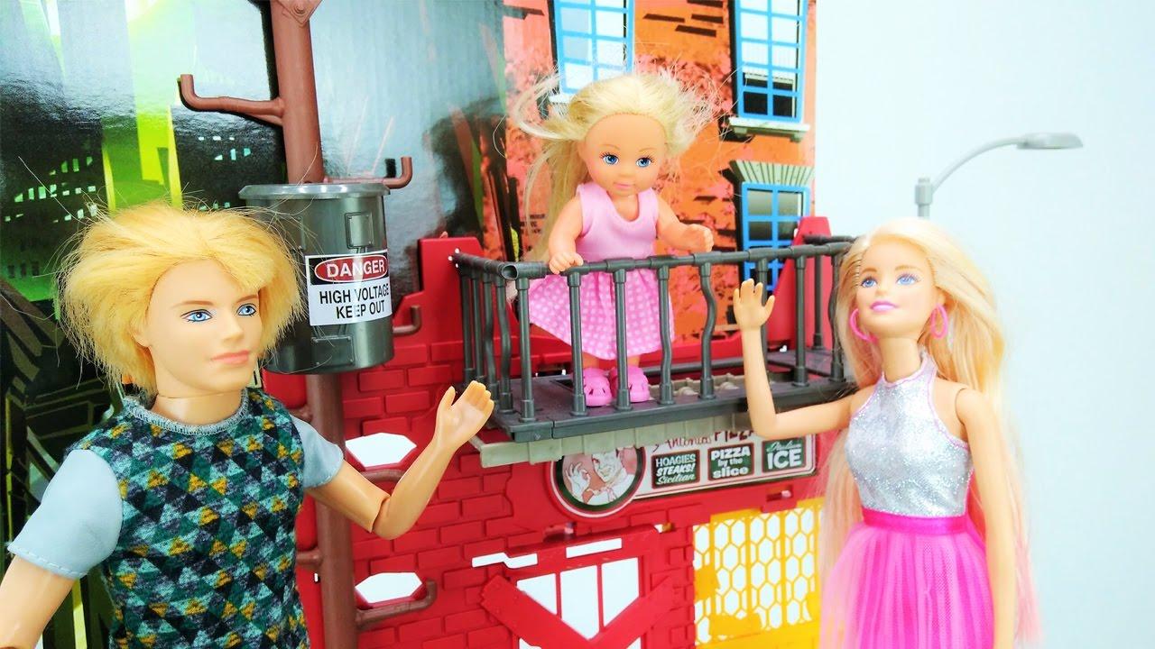 Видео для детей с Кен и Барби. Где же Штеффи? - YouTube