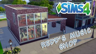 Redd's Music Shop || Speed Build || Sims 4