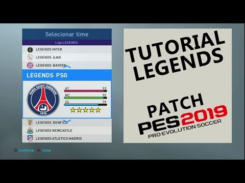 OPTION FILE LEGENDS - PES 19 | TUTORIAL (PS4)