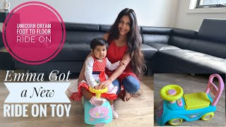 Emma&#39s Unicorn Dream Foot to Floor Ride on Toy  Activity Ideas For Babies