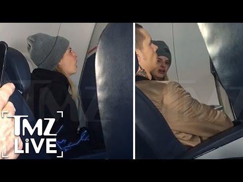 THE VOICE Contestant: Plane Freak-Out | TMZ Live