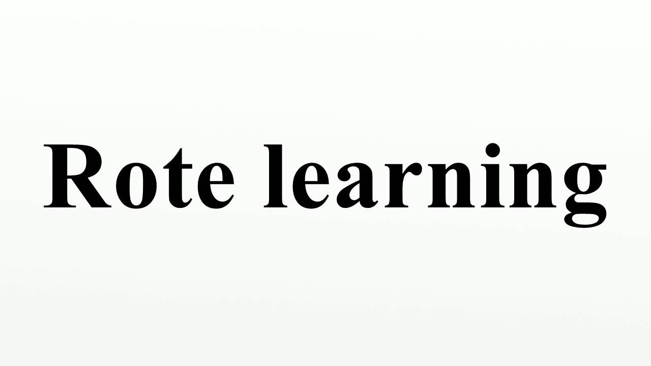 disadvantages of rote learning