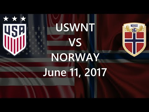 USWNT vs Norway June 11, 2017