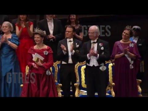 Ceremonia Premios Nobel 2015