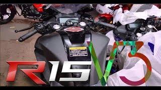 New Yamaha R15 V3.0 | Matte Black Series | Specification & Price 2018